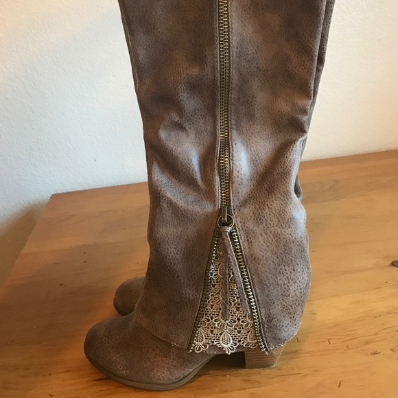 Rated Lace Insert Boot   Poshmark